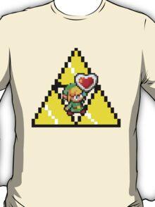8 Bit Link, the legend of Zelda - Pixel T-Shirt
