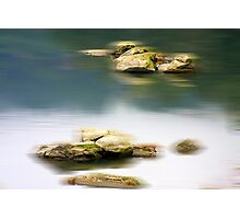 Motion in Blur Photographic Print