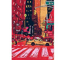 Summer Taxi Photographic Print