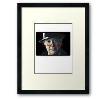 Raymond 'Red' Reddington - You talk too much Print Framed Print
