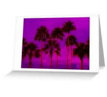 Palm Tree Heaven Greeting Card