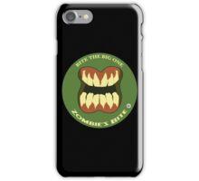 The Bite: Zombie iPhone Case/Skin