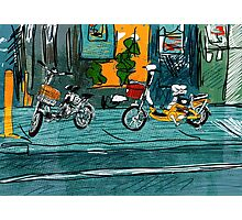 City Cycles Photographic Print