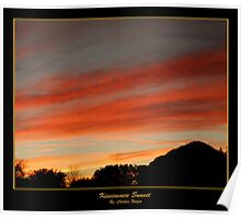 Kissimmee Sunset Poster