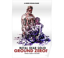 Ground Zeroes Poster Poster
