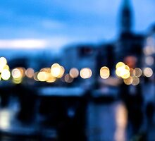 Venice Out Of Focus by Selena Chaplin
