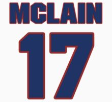 National baseball player Denny McLain jersey 17 by imsport