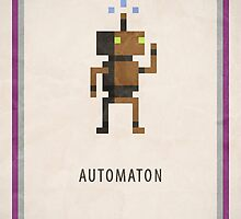 RPG Pixel - Automaton by Andrew Choo