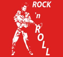 ROCK 'n' ROLL T-SHIRT Baby Tee