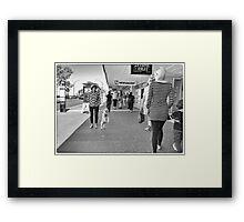 Walkies Framed Print