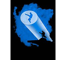 The Dark Knight of Silly Walks Photographic Print