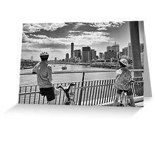 Brisbane River Greeting Card