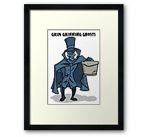 Grim Grinning Ghosts Framed Print