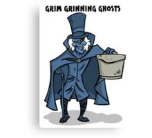 Grim Grinning Ghosts Canvas Print