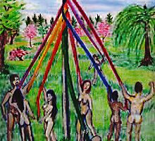 Beltane's May Pole by Tagni