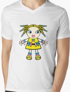 candy baby Mens V-Neck T-Shirt