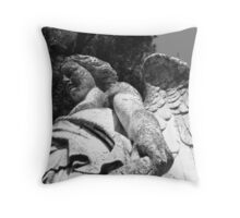 Guardian of the dead Throw Pillow