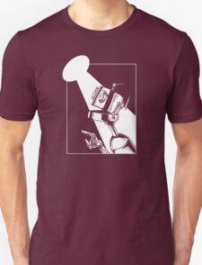 Robot in the Spotlight Unisex T-Shirt