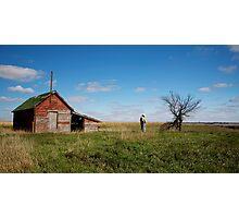 Cowboy Calm Photographic Print