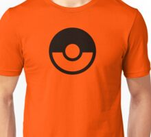 Pokémon Symbol - Super Smash Bros. (black) Unisex T-Shirt