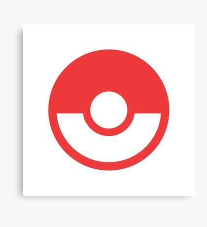 Pokémon Symbol - Super Smash Bros. (color) Canvas Print