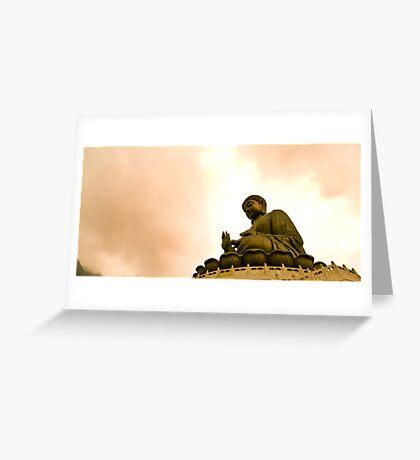 Buddha's Blessing Greeting Card