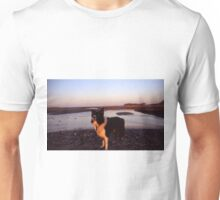Magic hour with Indy Unisex T-Shirt