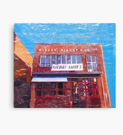 Hull, Thieving Harry's Canvas Print