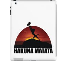 Hakuna Matata Lion King  iPad Case/Skin