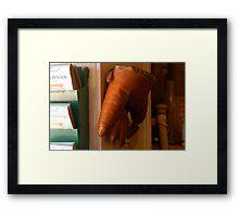 """The Glove"" Framed Print"