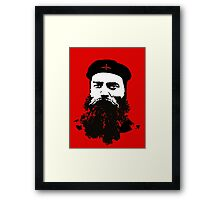 Ned Kelly Meets Che - any colour shirt Framed Print