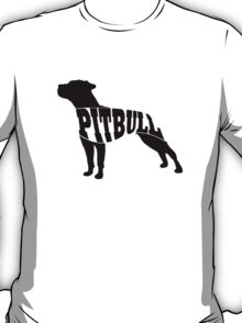 Pitbull black T-Shirt