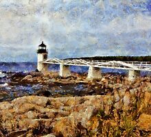 Marshall Point Light - painted by PhotosByHealy