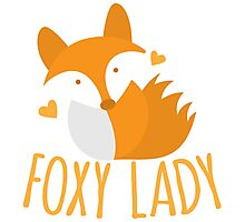 Foxy lady super cute kawaii foxy Photographic Print