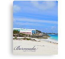 Bermuda - St Johns Beach Canvas Print