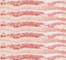 Bacon Strips Print Design by RexLambo