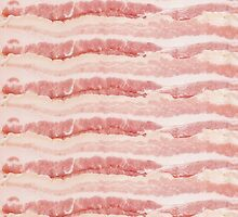 Bacon Strips Print Design by RexLambo