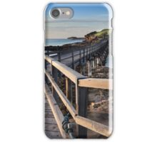 Sunrise over Bare Island, La Perouse Australia iPhone Case/Skin