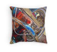4 Seasons Motorcycle Throw Pillow