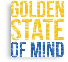 Golden State of Mind  Canvas Print