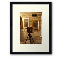 Photographer Framed Print