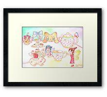 Fairy Dinner Framed Print