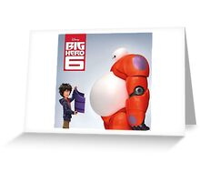 Big Hero 6 Greeting Card