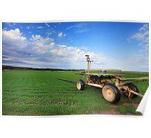 Turf Farm Freemans Reach Australia landscape Poster