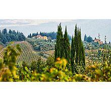 Tuscany Italy Photographic Print
