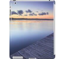 Long Jetty Australia at Dusk seascape landscape iPad Case/Skin