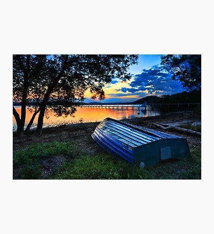 Beautiful Sunset Kincumber Australia seascape landscape Photographic Print