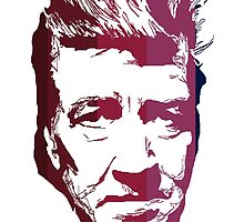 David Lynch in stripes by burrotees