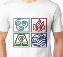 The Four Elements -Avatar Unisex T-Shirt