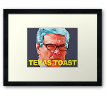Rick Perry Funny Politics Framed Print